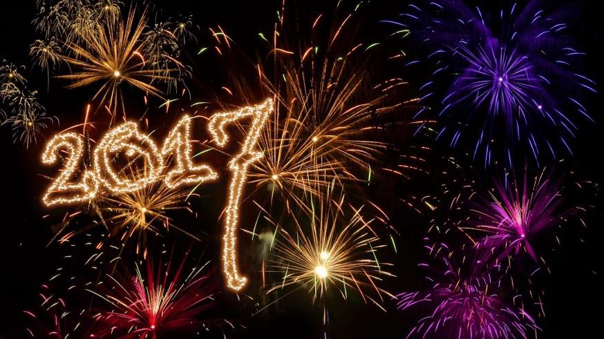 Vi ønsker et rigtigt godt nytår til jer alle