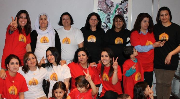 Ezidier fejrede kvindernes kampdag
